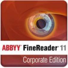 FineReader 11 Corporate Edition. Обновление электронной версии с версий 9.010 ProfessionalCorporate Edition Цена за одну лицензию