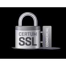 Сертификат SSL CERTUM Commercial SSL (DV) на 2 года