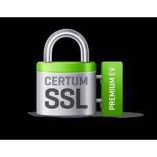 Сертификат SSL  CERTUM Premium EV на 1 год