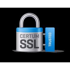 Сертификат SSL CERTUM Trusted SSL (OV) на 1 год
