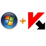 Windows 7 Professional OEM + Kaspersky 2 PC